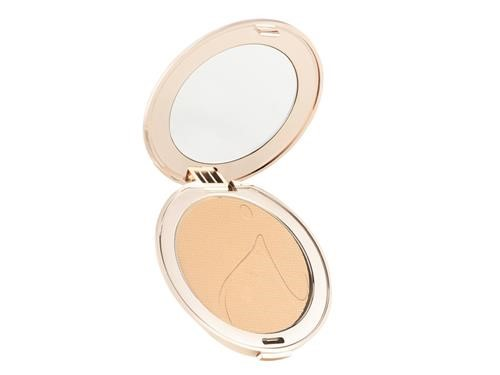 jane iredale Rose Gold Refillable Compact with PurePressed Base Refill