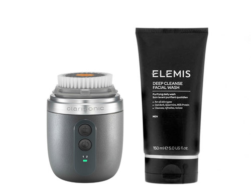 Clarisonic Alpha FIT and ELEMIS Deep Cleanse Facial Wash