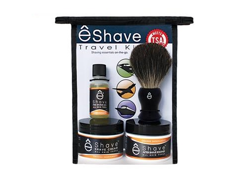 eShave Travel Shaving Kit